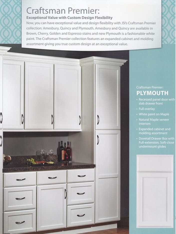 JSI Plymouth Cabinets