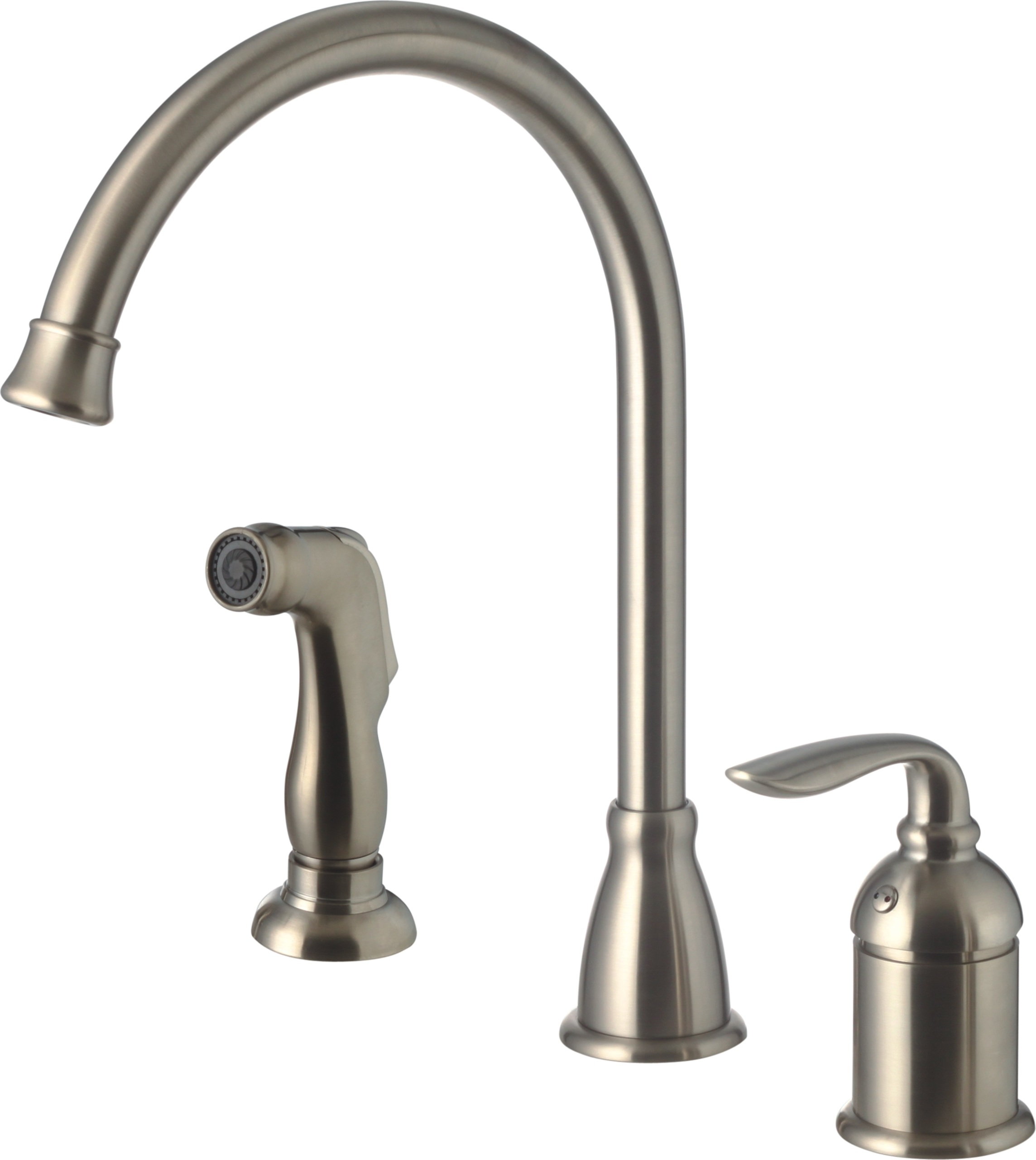 Brushed Nickel Kitchen Faucets Sale